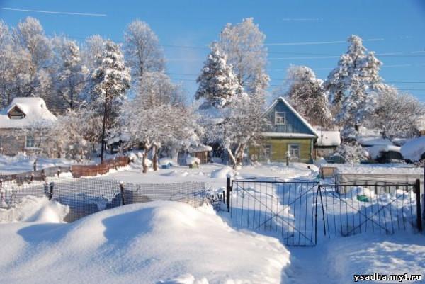русская деревня2