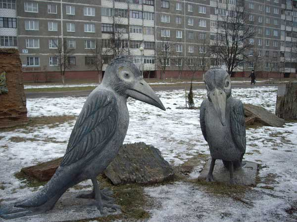 2 воронам