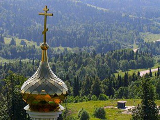 День Святого Духа купол с крестом