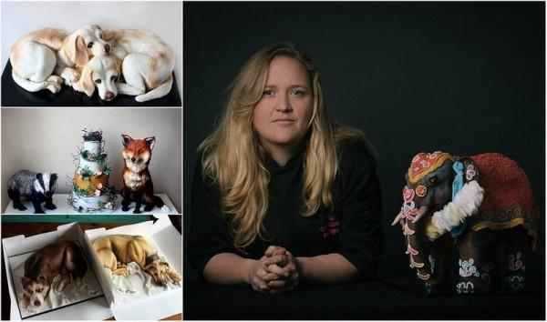 ханна эдвардс и ее торты-собаки