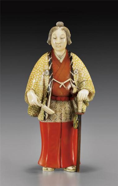 окимоно1резные фигурки из японии