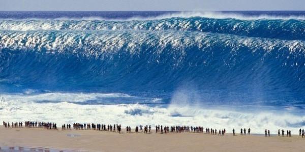 15-метровая волна гавайи