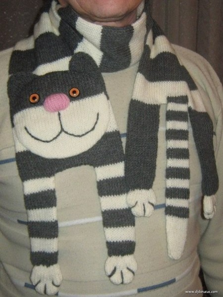 шарф-кот
