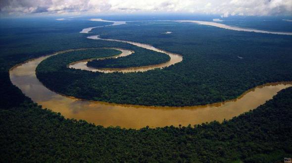 изгибы реки