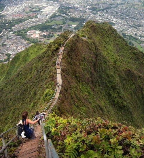 11 лестница хайку гавайи сша