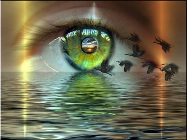 зеленые глаза -лучшее