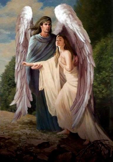Ты - мой ангел-хранитель