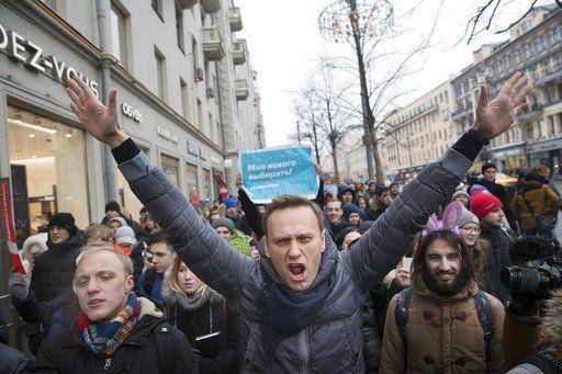 ликует навальный