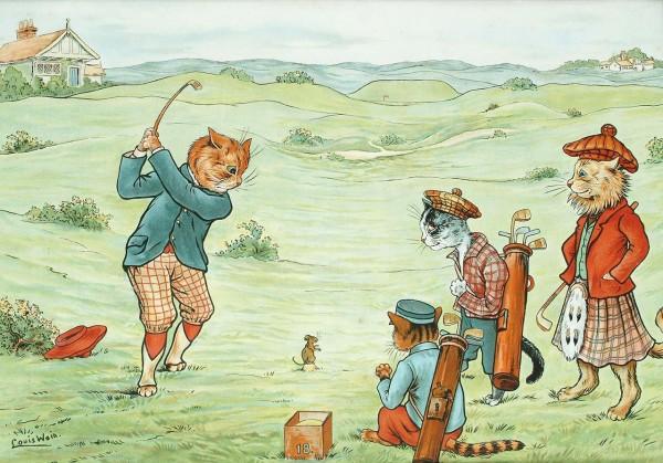 гольф по-кошачьи