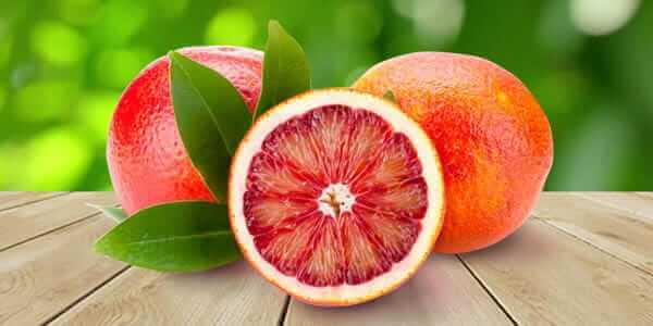 апельсин королек - красный