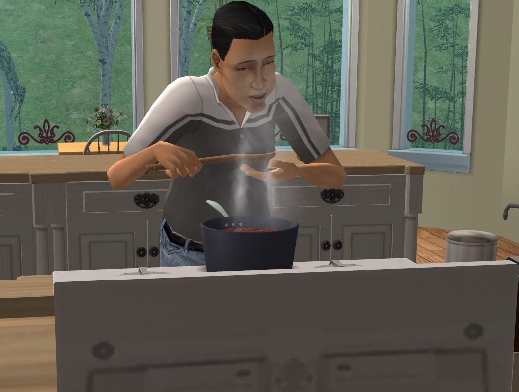 5995 Hugo cooking