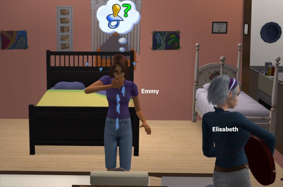 6852 Emmy pregnant