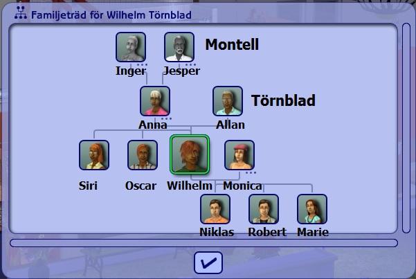 7212 Wilhelm tree