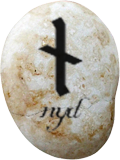 Picture of the rune nyd, followed by the picture of a letter with the following content: Mr. Potter, You will hardly remember me, I'm sure, but I was Mistress of Ancient Runes during your years at Hogwarts ( I won't flatter myself by imagining that Miss Granger spoke at any great length about me or class). As May approaches and the trials and testimonies are forgotten in favor of celebrations and awards, I have been moved to think on the events that led up to that final battle—including incidents that occurred long before your initial arrival on the Hogwarts Express. Through the trial documents I know of the memories headmaster Snape gave you, and I can guess what other stories you have been told that augment them. I, too, was a Hogwarts student at the same time your parents walked these corridors.