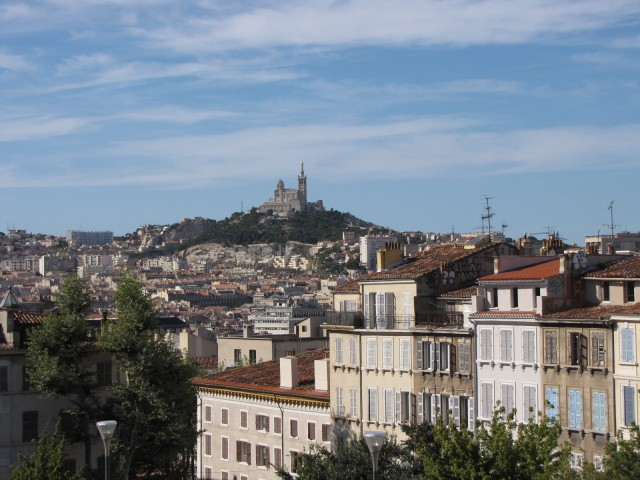 Вид из террасы вокзала Сен-Чарльз