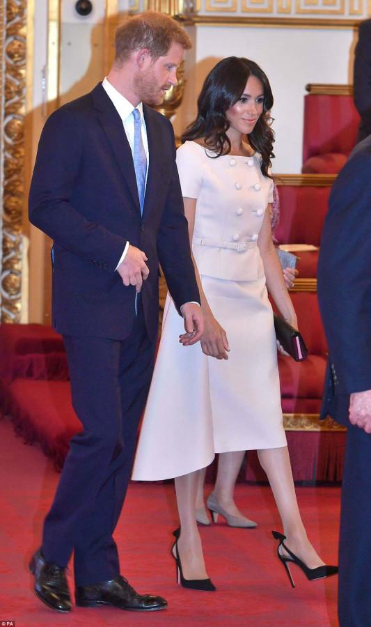 Члены королевской семьи на Queen's Young Leader Award