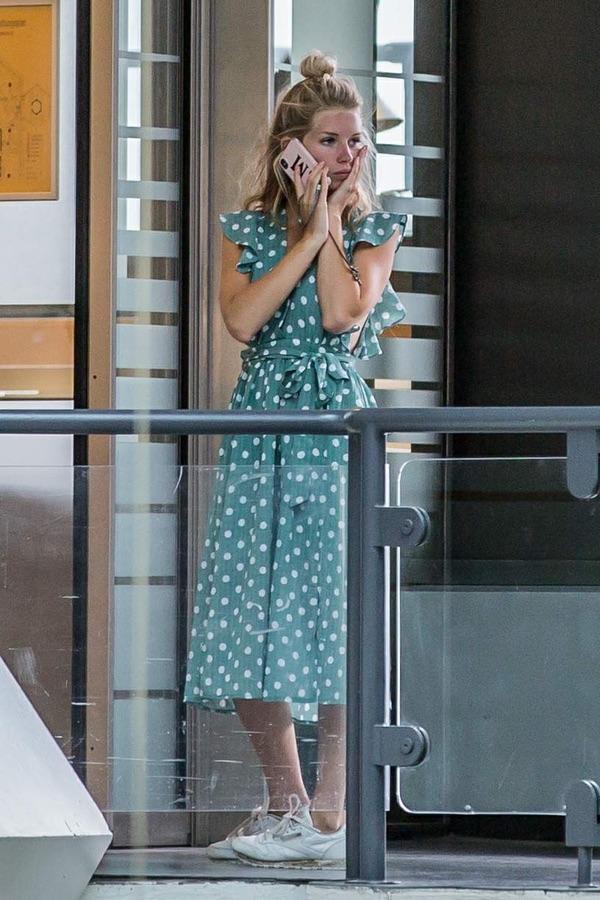 Лотти Мосс в Берлине airport