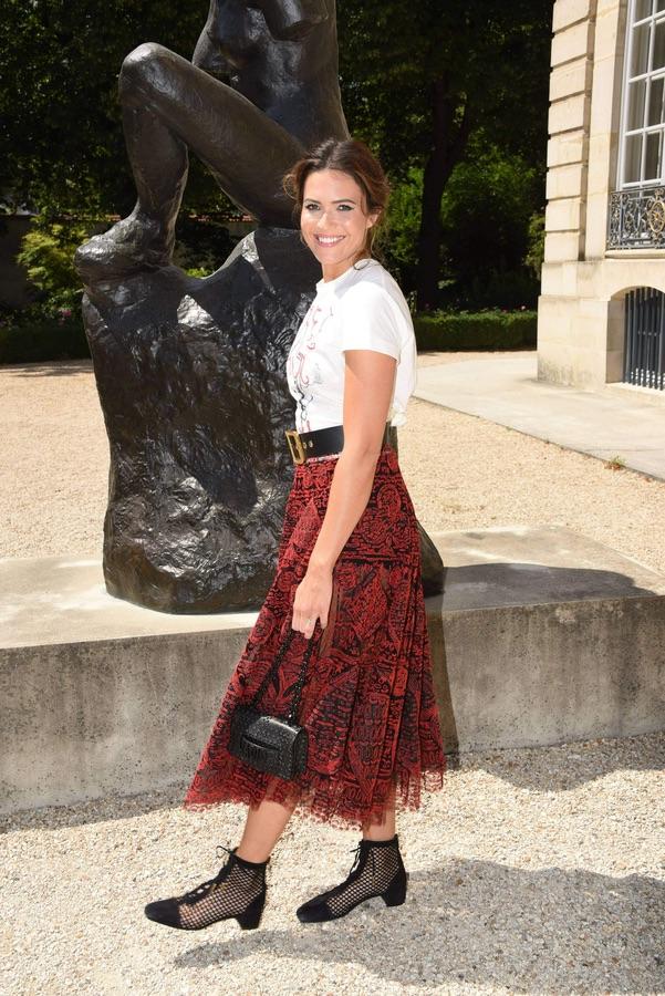 Звезды на модном показе Christian Dior