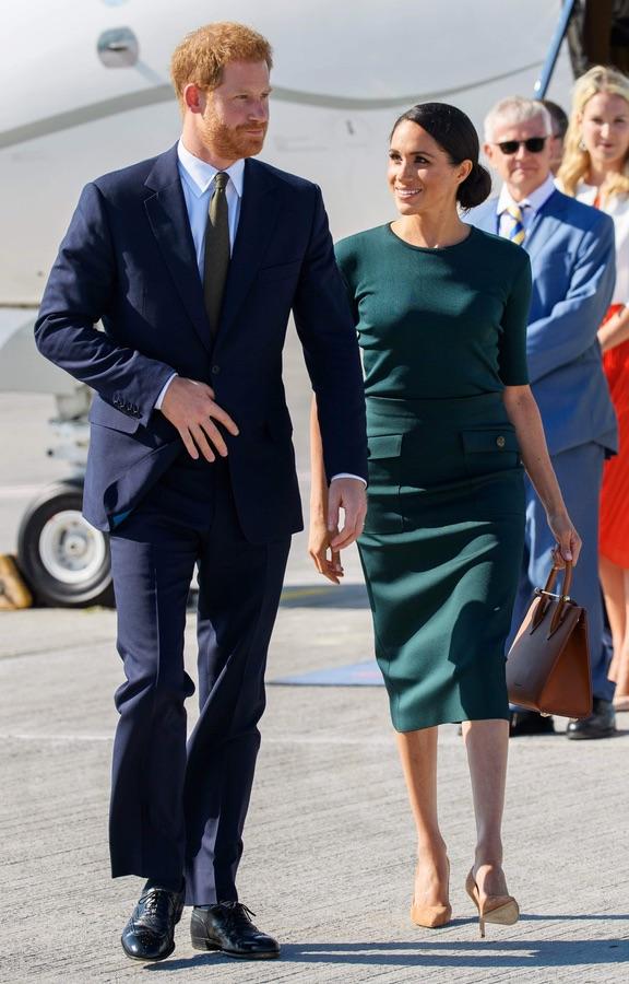 Первый официальный визит Меган и Гарри в Ирландию