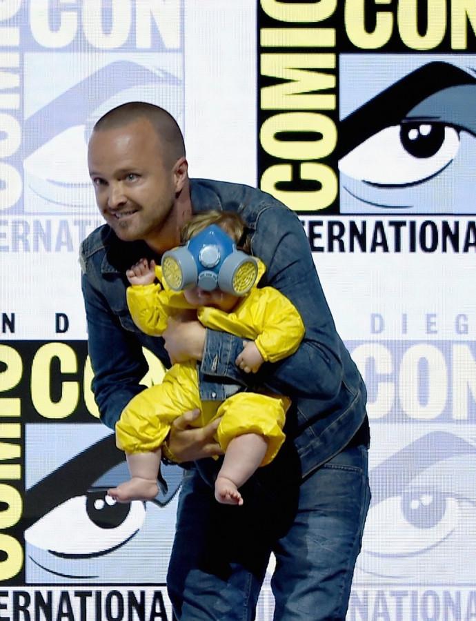 Актеры сериала «Во все тяжкие» на Comic-Con