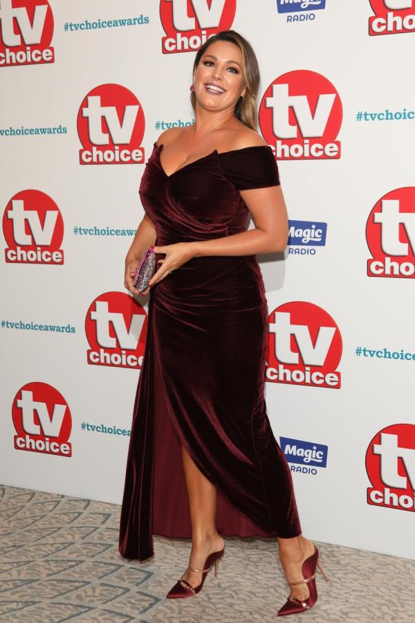 Келли Брук на TV Choice Awards kelly brook