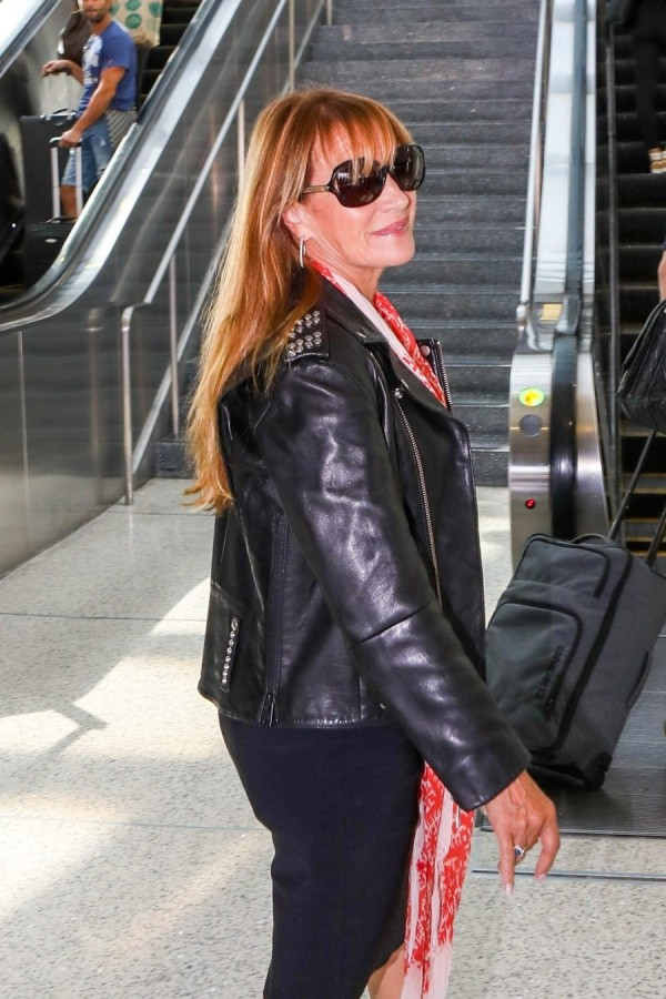 Джейн Сеймур в LAX jane seymour