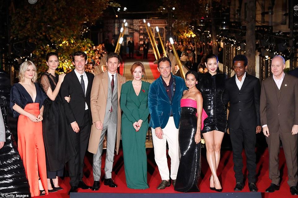 Премьера фильма Фантастические твари: Преступления Грин-де-Вальда в Париже