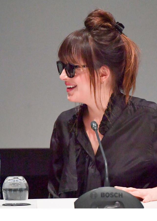 Дакота Джонсон на кинофестивале в Марракеше