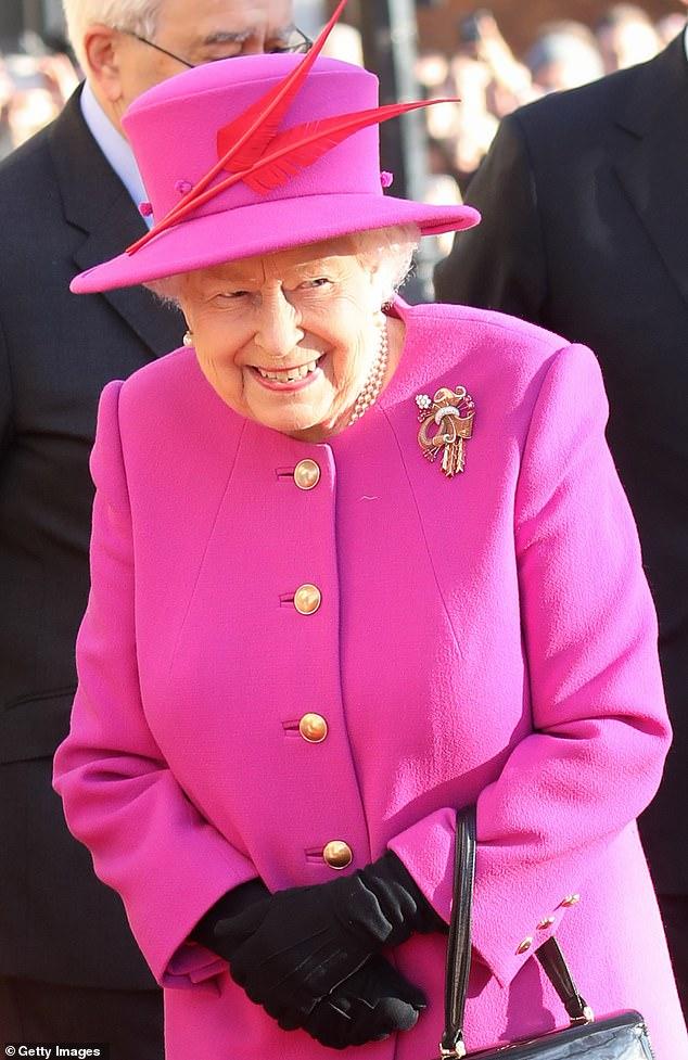 Королева Елизавета II в Линкольнс-Инн