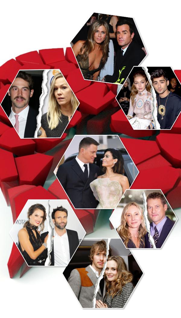 Итоги 2018: звездные разводы