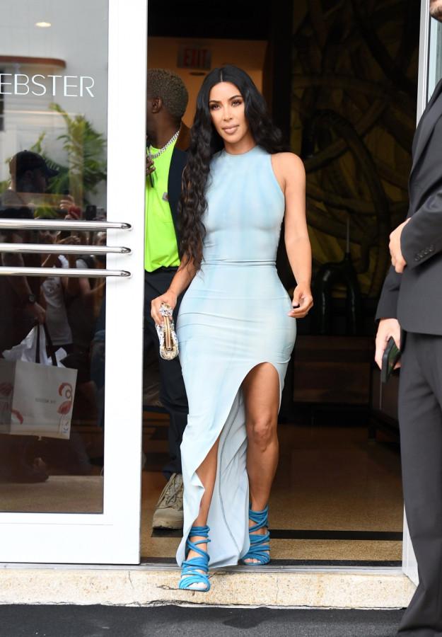 Сладкая парочка в Майами kim kardashian