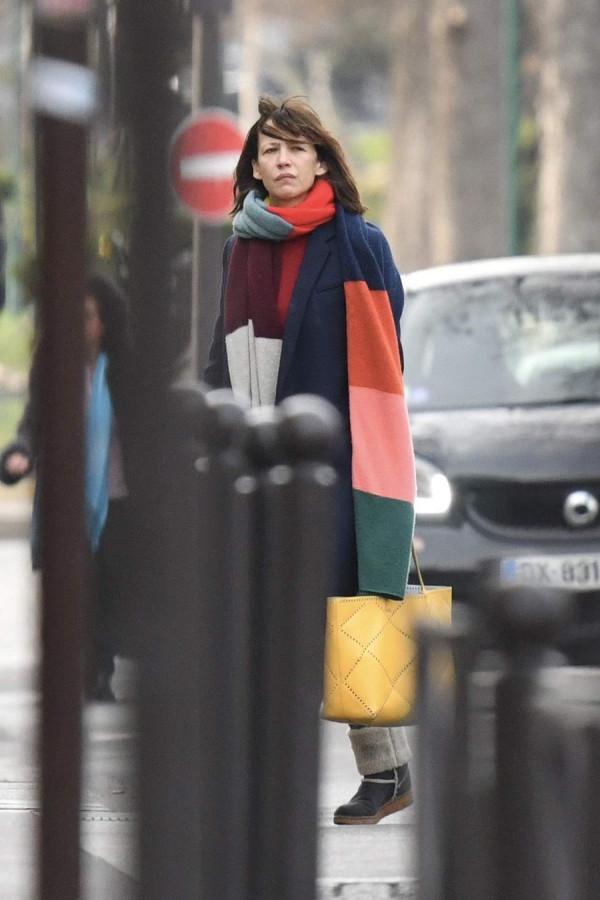 Уличный стиль Софи Марсо