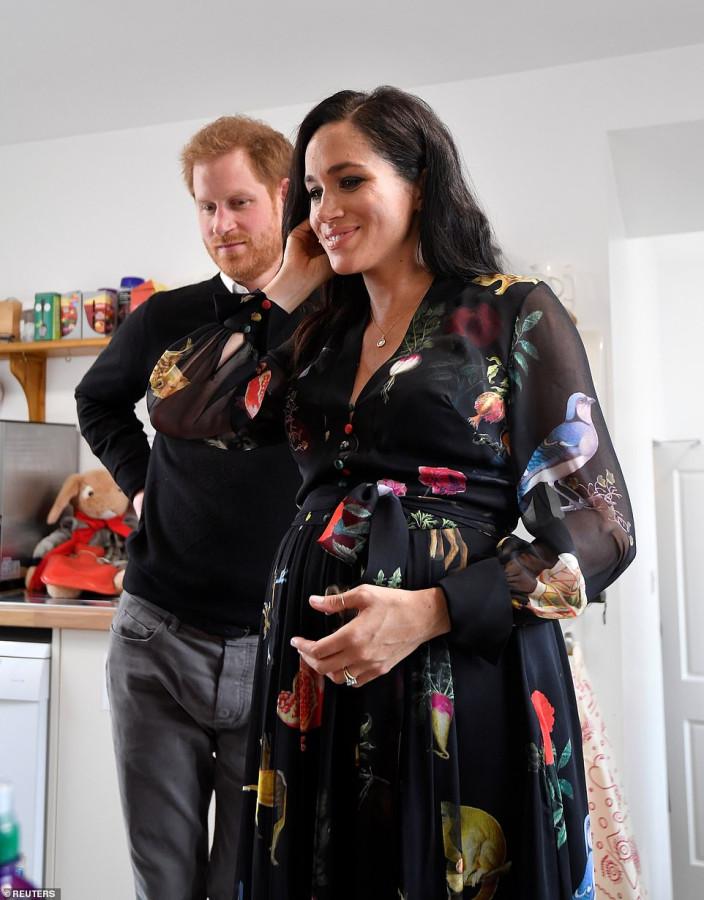 Герцог и герцогиня Сассекские в Бристоле