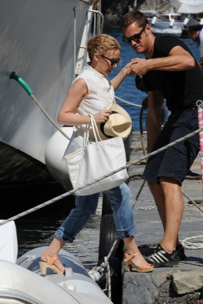 Kylie+Minogue+seen+vacationing+Portofino+nHHZyLEalNSx