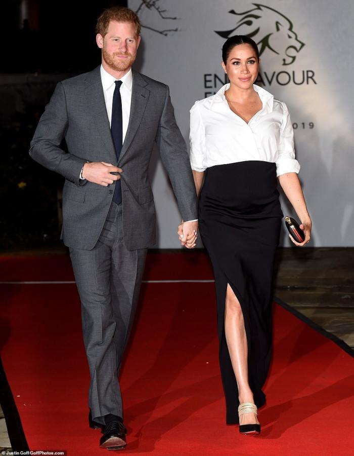 Герцог и герцогиня Сассекские на церемонии Endeavour Fund Awards