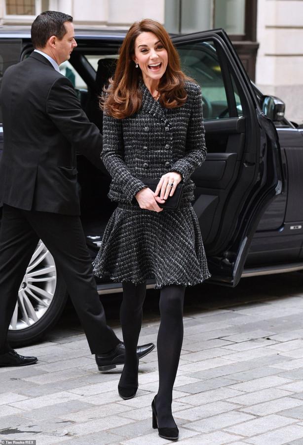 Кейт Миддлтон посетила конференцию Королевского фонда