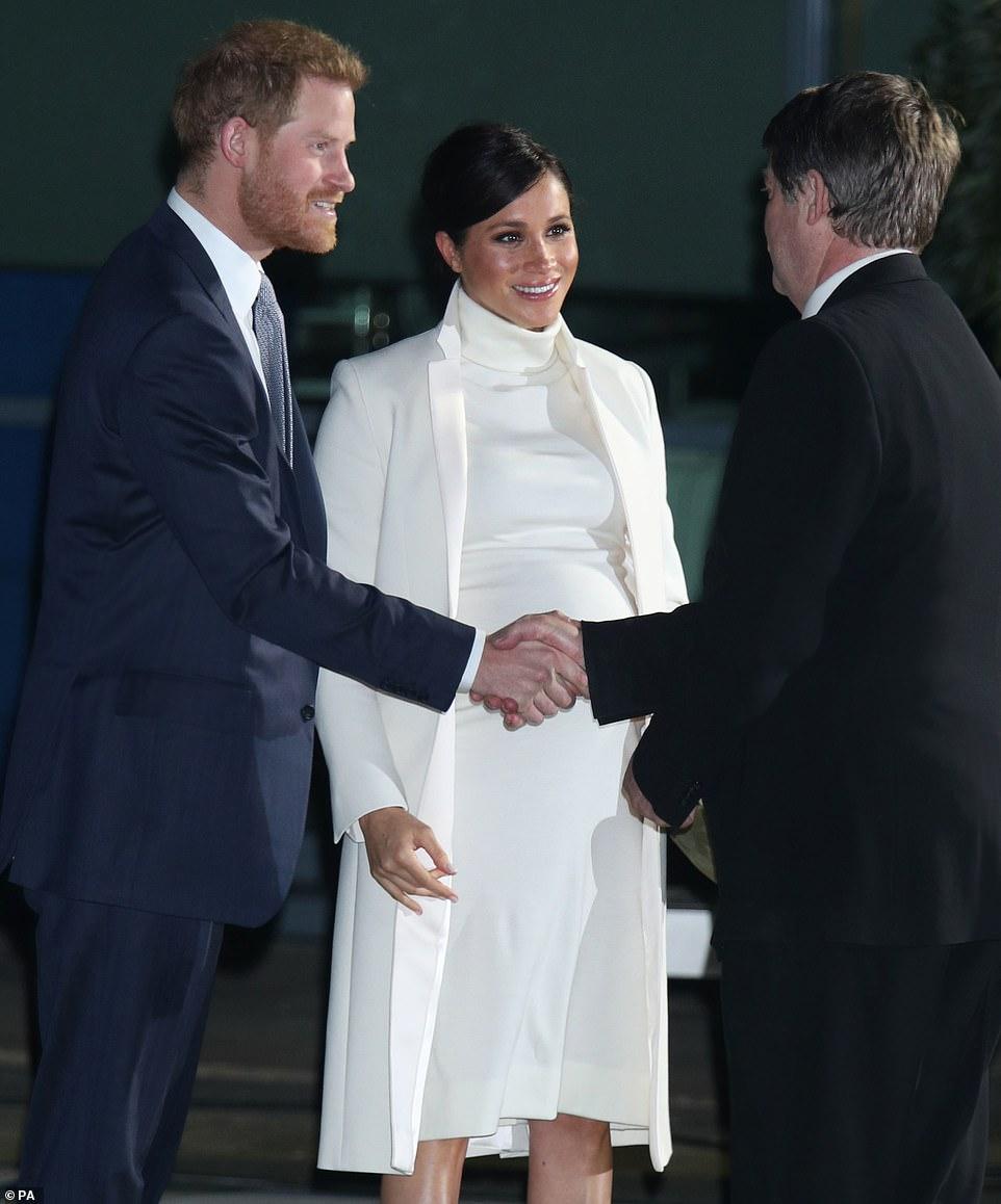 """Меган Маркл и принц Гарри посетили гала-представление """"Дикая Земля"""""""
