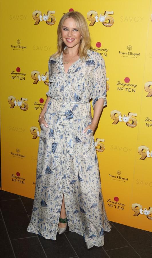 Кайли Миноуг на вечеринке в Лондоне