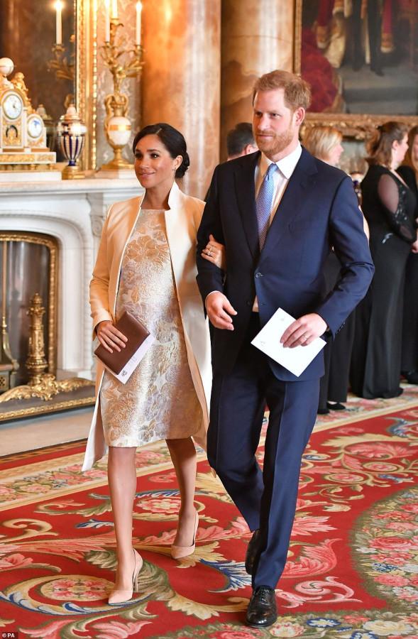 Королевский прием в Букингемском дворце