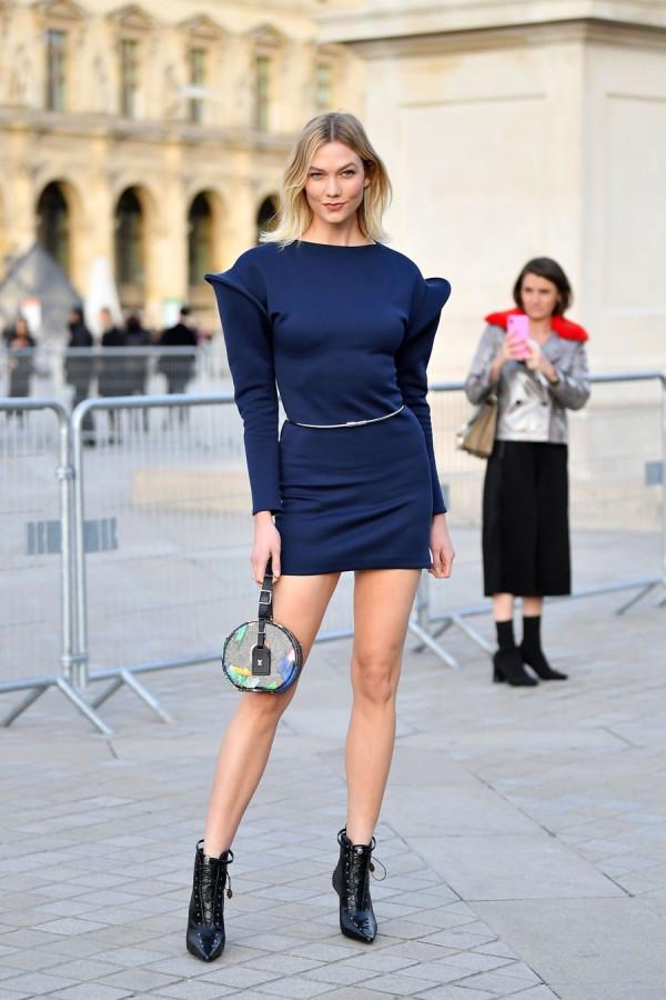 Звезды на модном показе Louis Vuitton в Париже. Часть 1