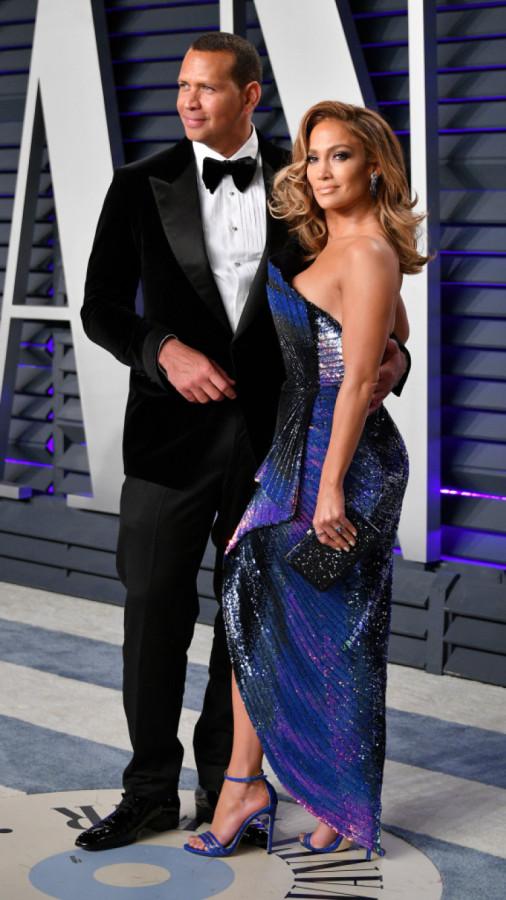 Звездная помолвка: Дженнифер Лопес и Алекс Родригес