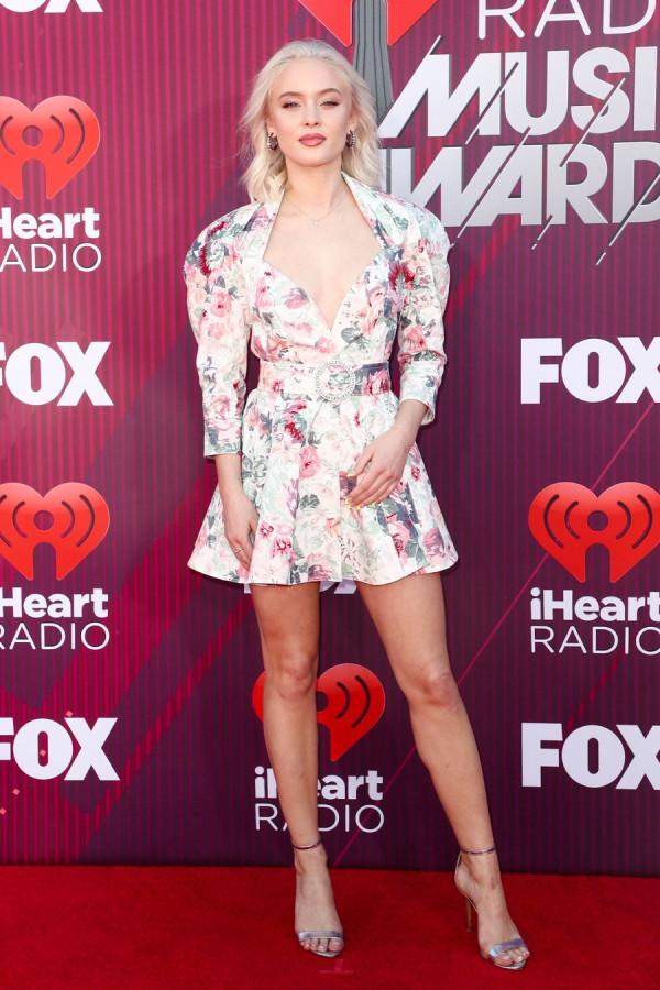 2019 iHeartRadio Music Awards iHeartRadio, Music, Awards, церемонии, Фаннинг, Рекса, Ларссон, Джессика