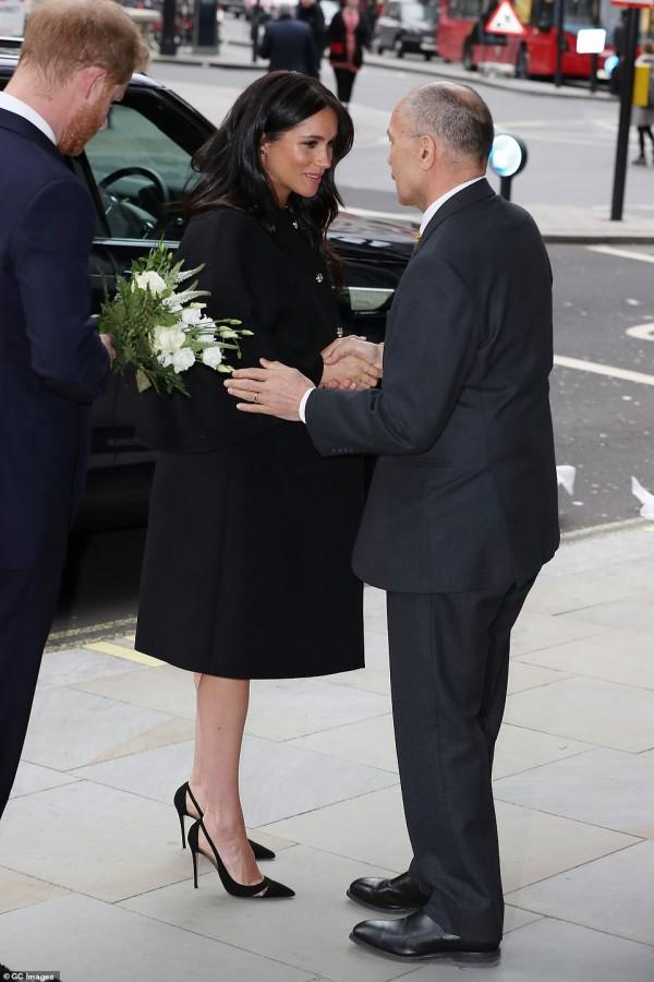 Принц Гарри и Меган Маркл посетили Высшую комиссию Новой Зеландии meghan markle