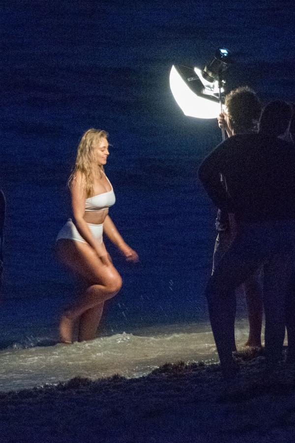 Искра Лоуренс на работе фотосъемки, Майами, время, вторник, Лоуренс, Искра