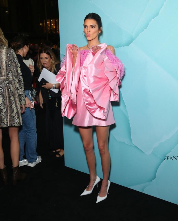 Кендалл Дженнер на открытии бутика Tiffany&Co
