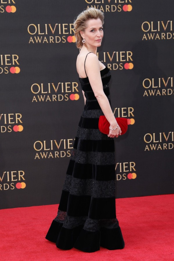 Джиллиан Андерсон на The Olivier Awards