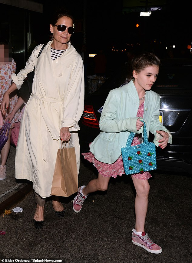 Кэти Холмс отметила 13-летие дочери