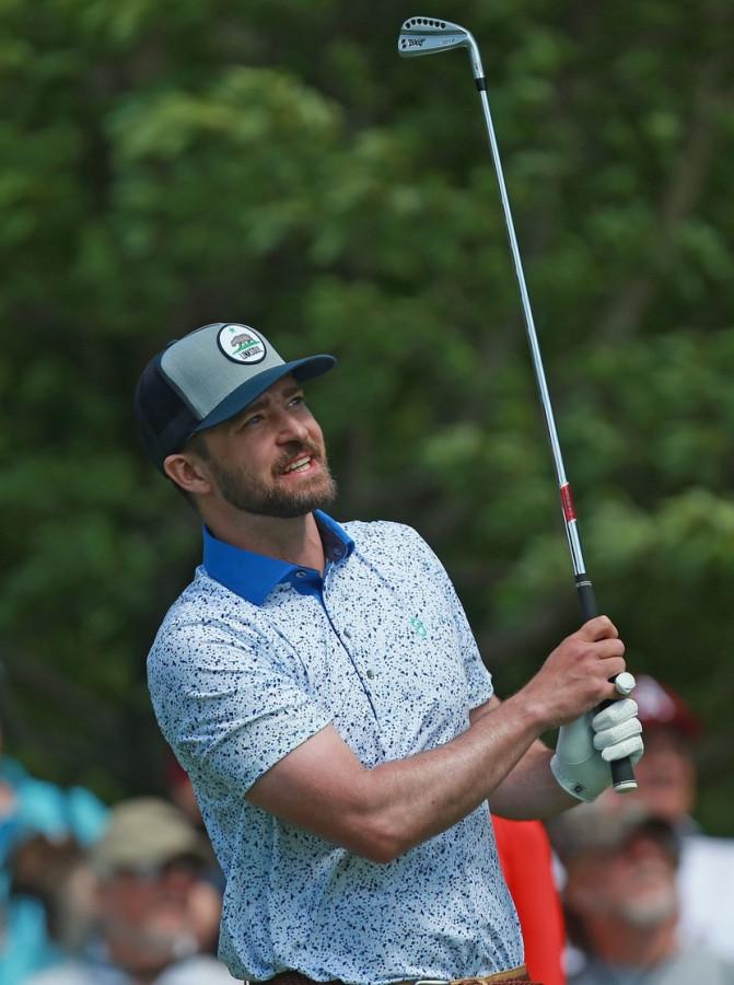 Сын Джастина Тимберлейка поддержал папу на турнире по гольфу jessica biel,justin timberlake