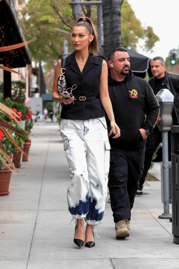 Белла Хадид в ЛА