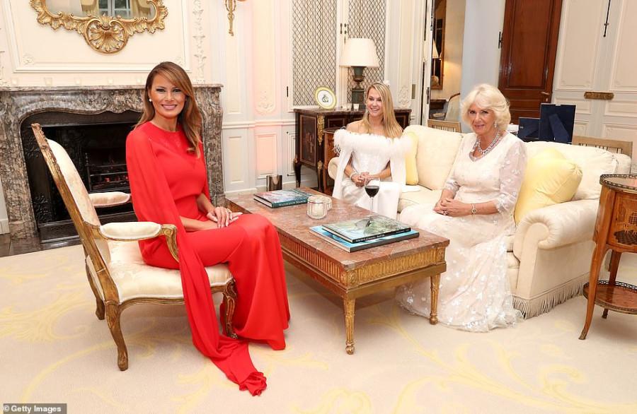 Трампы устроили ужин для принца Чарльза и Камиллы